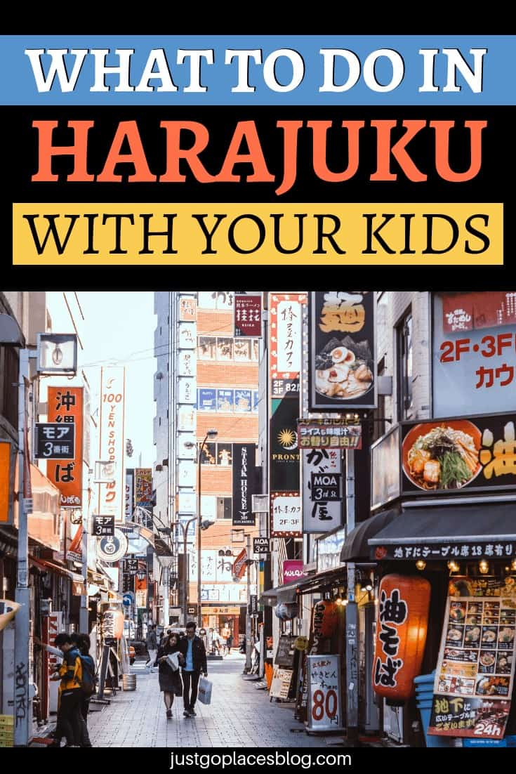 Harajuku is a must visit and one of the trendiest neighborhoods in Tokyo. Definitely you need to visit Harajuku, if you are traveling to Tokyo with children, they'll love it! Discover how to visit Harajuku with kids + the best things to do in Harajuku, Tokyo. #harajuku #tokyo #tokyotravel #japan #travelwithchildren