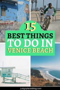 Check out the 15 reasons to visit Venice Beach, California, and the Venice Beach boardwalk. From the beautiful beach to the canals and its quirky shops, there are many things to do in Venice Beach with kids. Find out with these Venice Beach travel tips. #venicebeach #losangeles #california