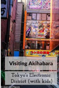 visiting Akihabara with kids
