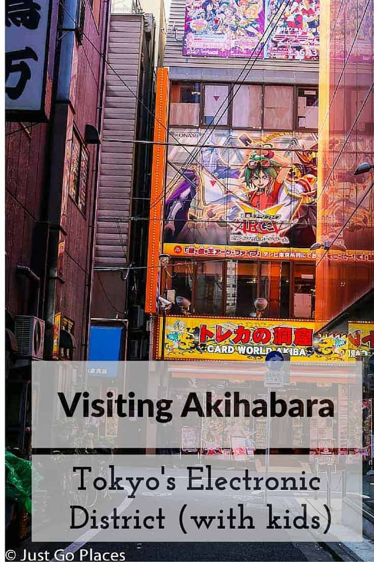 some tips for visiting Akihabara with kids