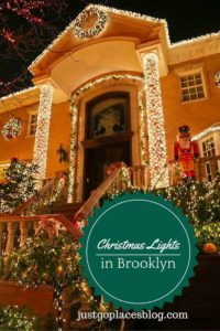 Christmas Lights in Brooklyn