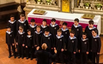 A Vienna Choir Boys Performance at the Imperial Chapel