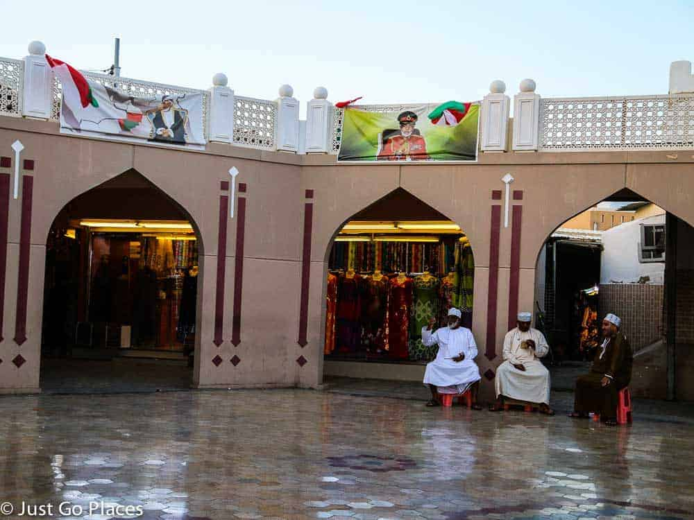 Muttrah Souq in Muscat