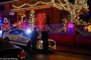 Christmas Lights in Brooklyn