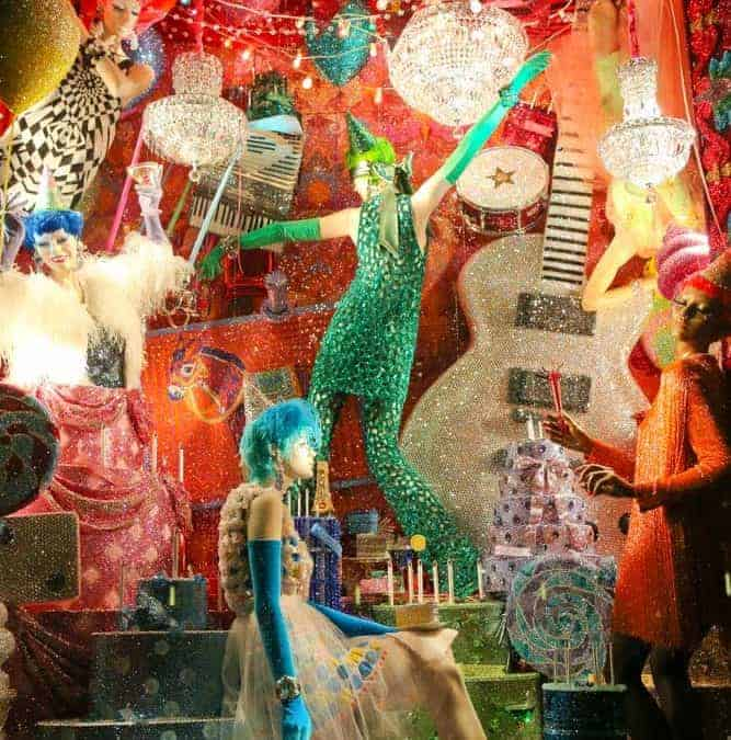 A Luxury Christmas at Bergdorf NYC