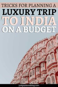Traveling to India for the first time can be a daunting prospect and one in which needs to be planned meticulously to help minimize costs. If you want to know how to save money on a luxury trip to India, check out these tips to make the most out of your India trip of a lifetime while keeping the budget under control. #luxurytravel #india #howtosavemoney #onabudget #indiatravel