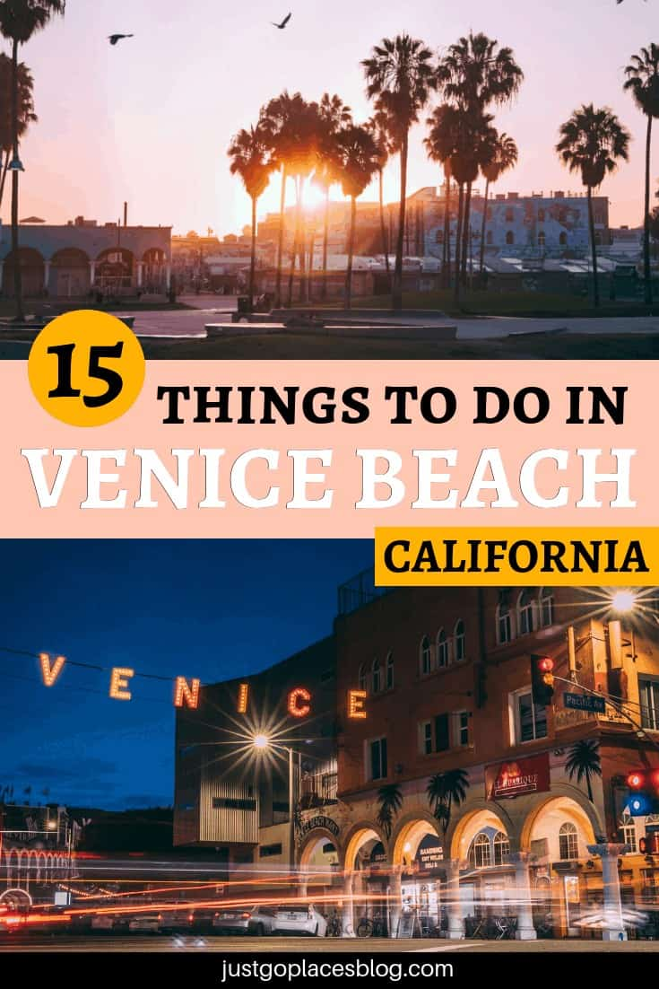 From the beautiful beach to the canals and its quirky shops, there are many things to do in Venice Beach with kids. Check out what to do in Venice Beach, California, and the Venice Beach boardwalk with this list of 15 favorite things and Venice Beach travel tips. #venicebeach #losangeles #california