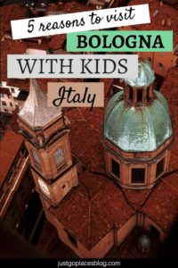 Bologna, Italy, is such a hidden gem! Amazing food, a happy vibe, and a long history are just some of the reasons why you need to visit Bologna with kids. There are plenty of things to do in Bologna, Italy with children. Check this article for Bologna travel tips and suggestions for what to do in Bologna with the whole family. #bologna #bolognawelcome #italy