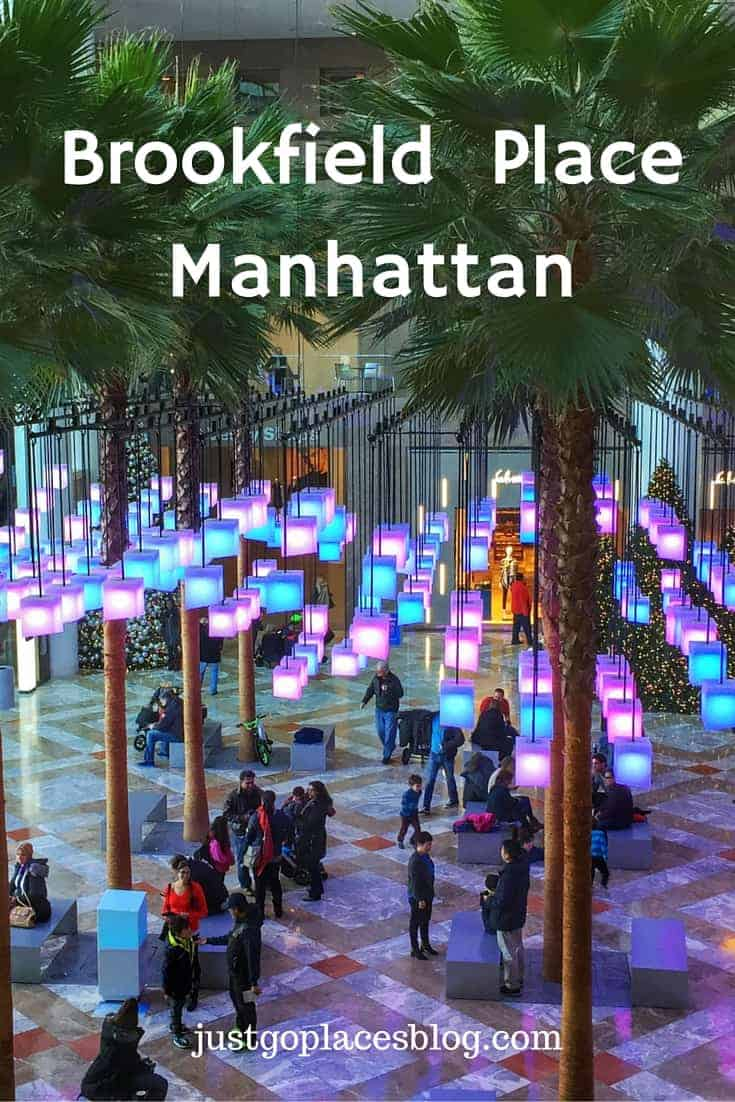 Brookfield Place for food, shopping and family fun in Lower Manhattan