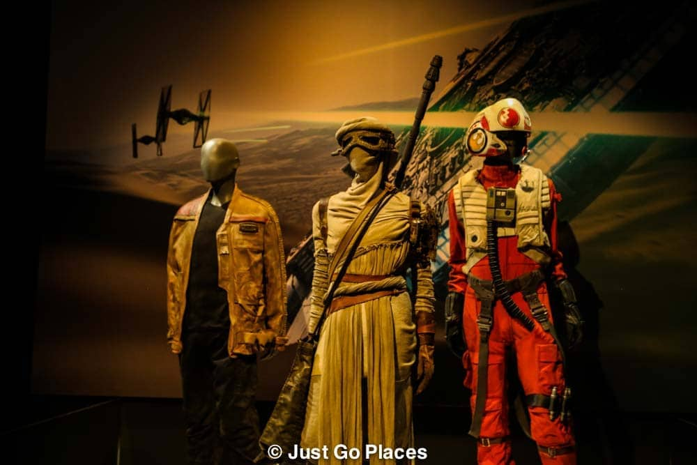 Star Wars Costumes Exhibit