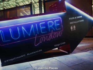 Lumiere London signs