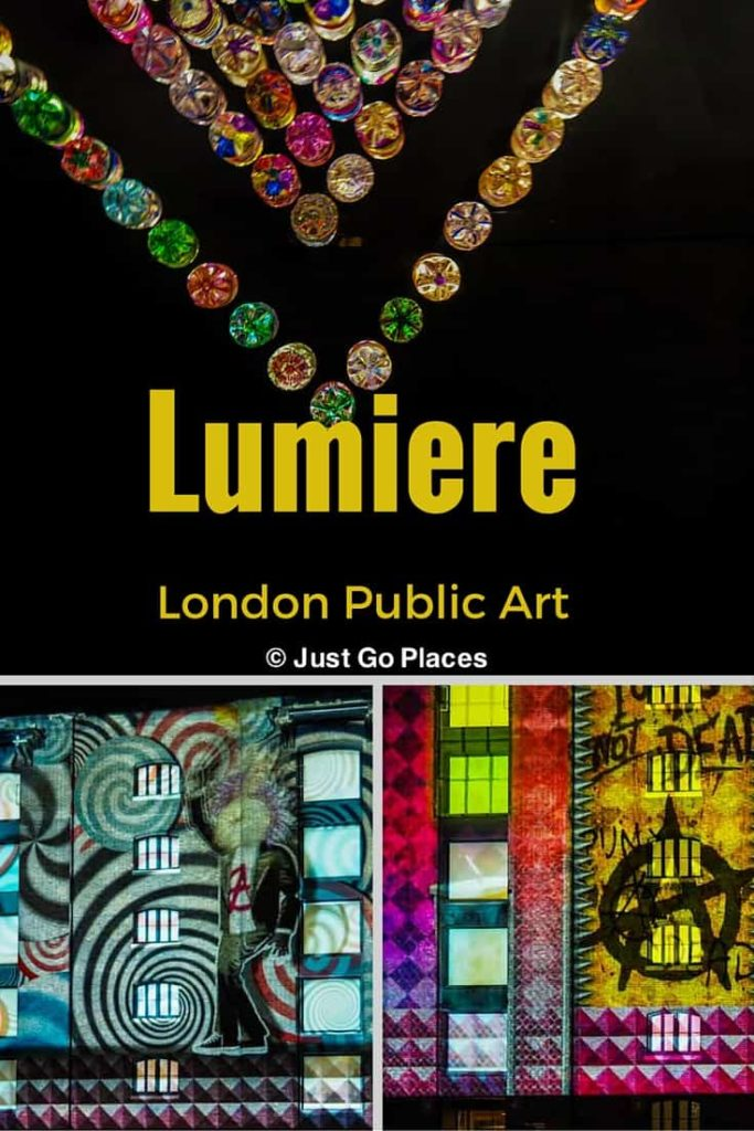 Lumiere London public art