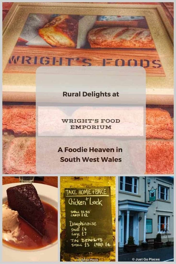Wrights Food Emporium is a restaurant and food store in South West Wales serving locally-sourced organic fare