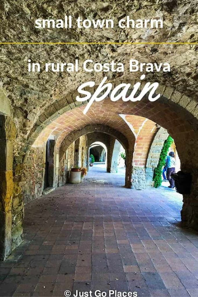 rural beauty on the Costa Brava countryside of Spain