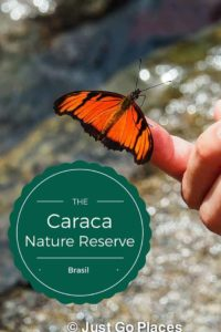Visiting the Caraca Nature Reserve in Minais Reserve, Brasil with kids