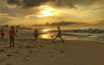 From Dawn until Dusk on the Beaches of Rio