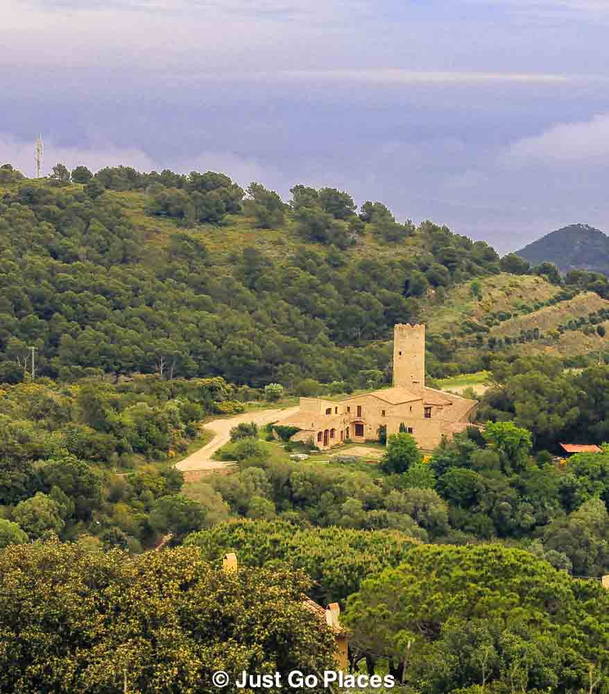 Costa Brava countryside