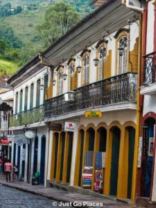 Ouro preto the brasilian gold rush town
