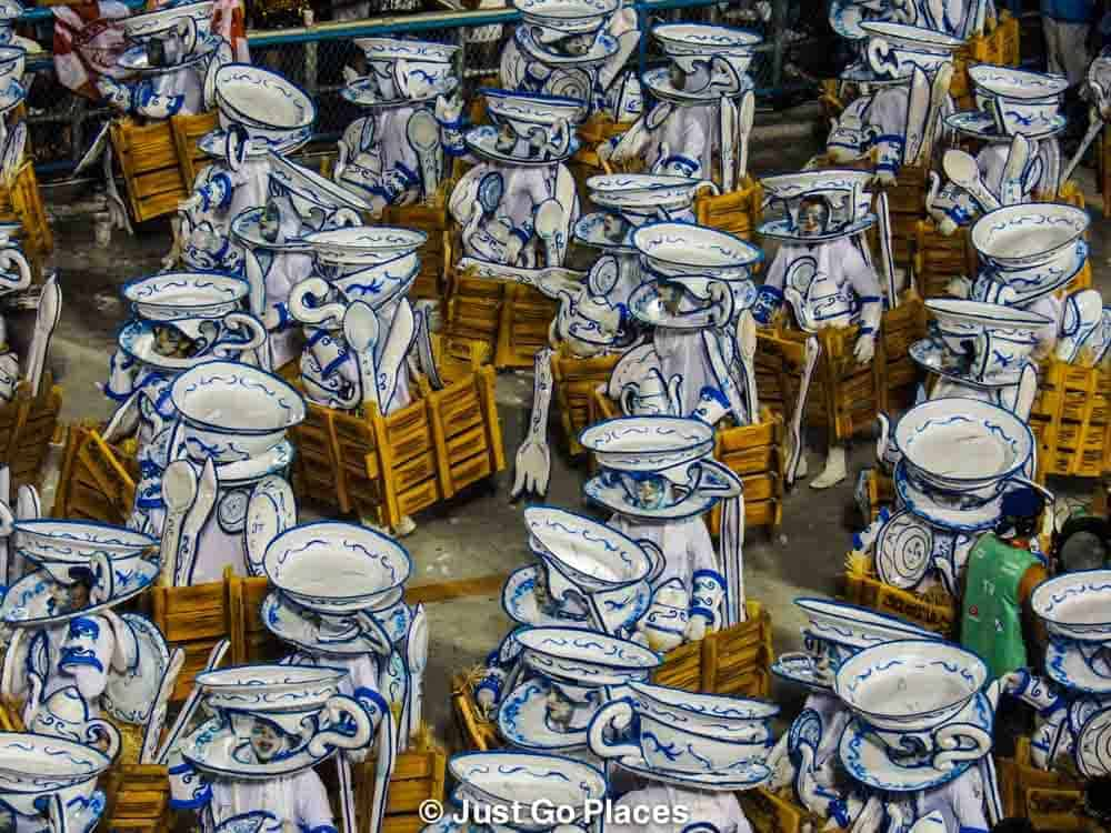 Rio Sambodrome Carnival 2016