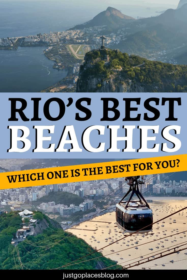 You can't really go to Rio de Janeiro, Brazil, and skip its beaches and beach life, can you? But with limited time, what are Rio de Janeiro best beaches and which one is the best one for you? Copacabana, Ipanema and Leblon are very different from each other: check out the best beach in Rio de Janeiro for you! #bestbeaches #beaches #rio #riodejaneiro #brazile #copacabana #ipanema #leblon