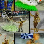 backstage at Rio's Sambadrome Parade