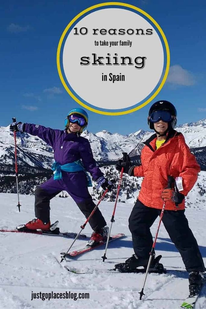 10 reasons to take your kids skiing in Spain