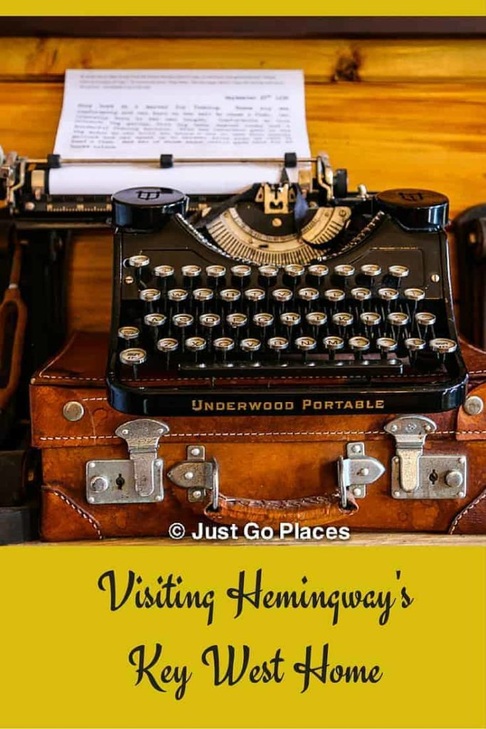 visiting Hemingway's Key West Home