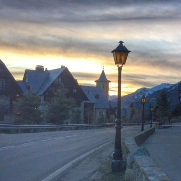 The Hotel Val de Neu in Baqueira