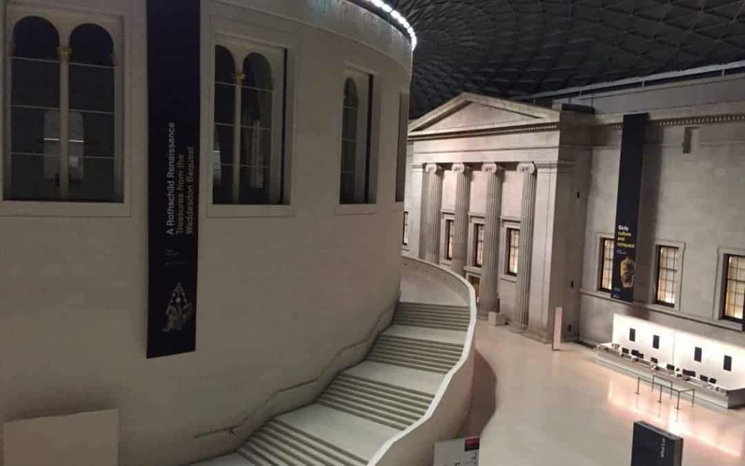 A Night to Remember:  A Sleepover At the British Museum
