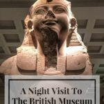 a sleepover at the British Museum