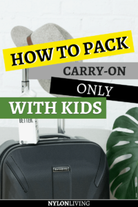 For sure when we travel with kids we need to carry a million suitcases with all their stuff… do we though? In this post, I'll show you how to travel carry on only with kids. Read this guide to learn about carry on packing, carry on bag essentials, and how to travel carry on tips… even with kids along. #carryon #carryononly #lighttravels