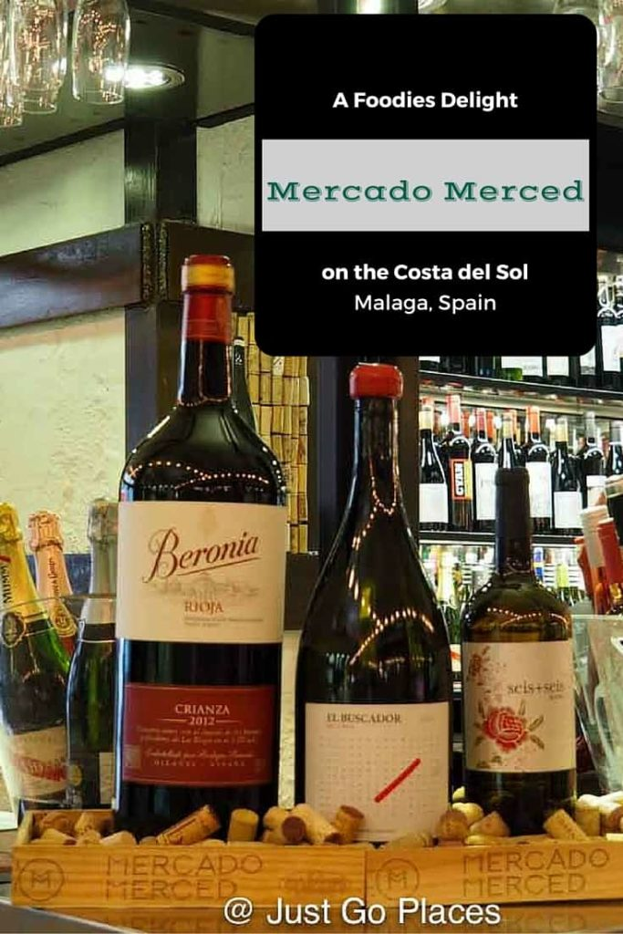 The mercado merced in Malaga is a recently refurbished gastromarket in the centre of town