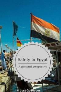 Safety in Egypt is a primary concern for many people. I address some of these concerns.
