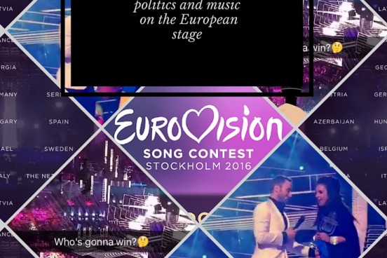 A recap of the funniest tweets from Eurovision 2016, a pan-European song contest