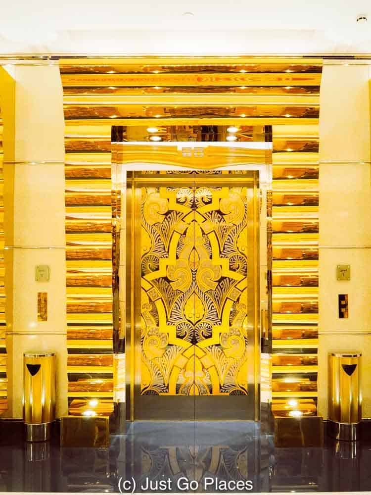 top world arab burj opens floor bar the in at al jumeirah on april most gold new luxurious