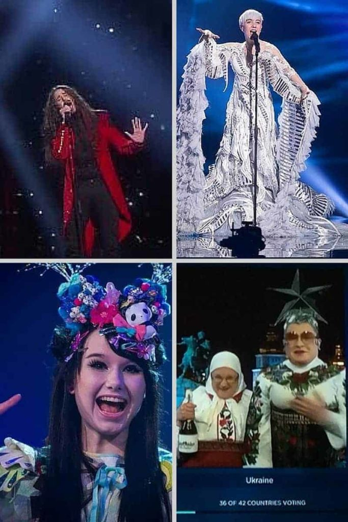 eurovision outfits