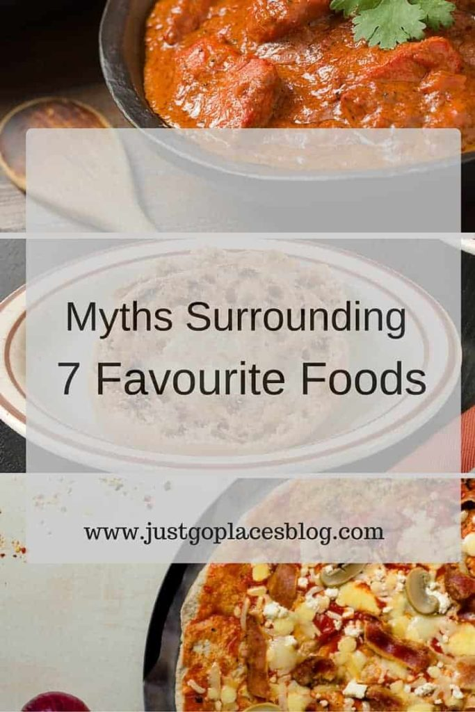 myths surrounding 7 favourite foods