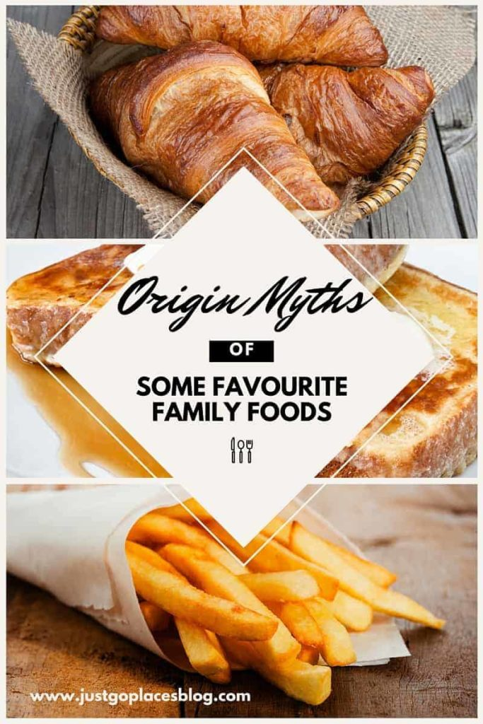 Origin myths of some favourite family foods