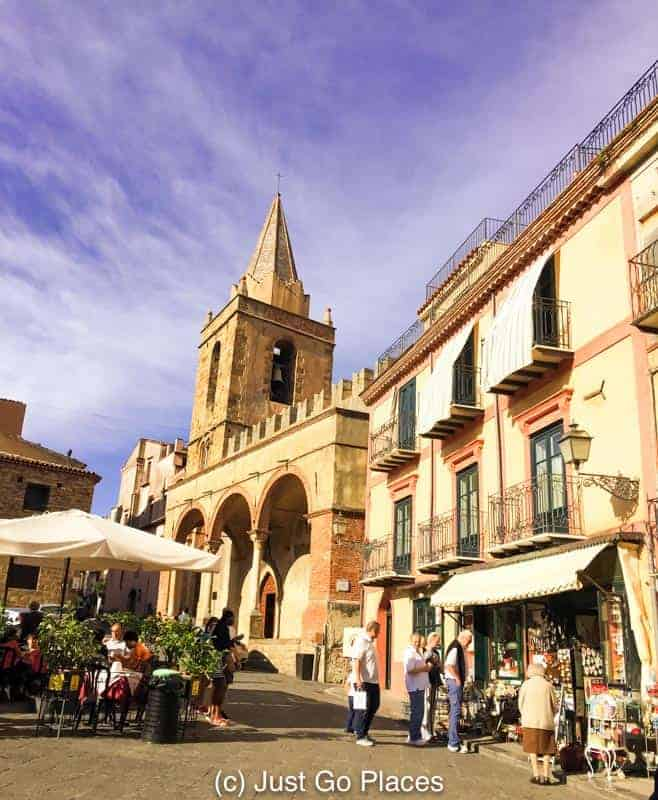 The Sicilian town of Castelbuono