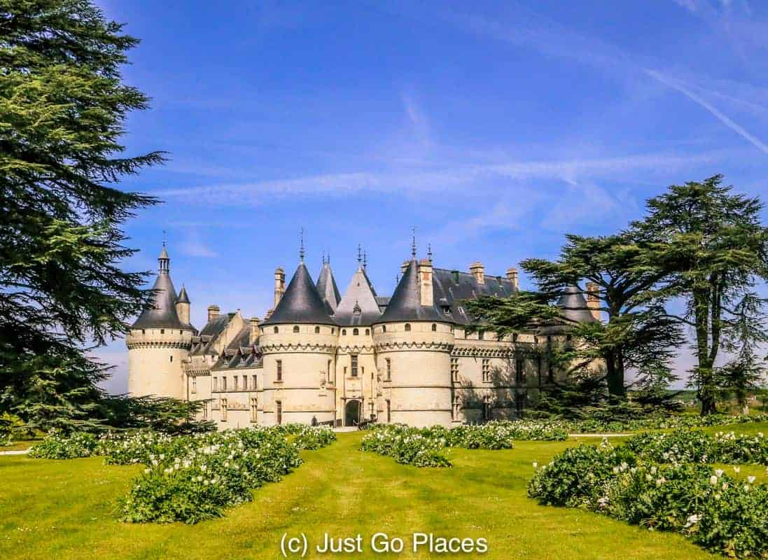 The gardens of chateau de chaumont