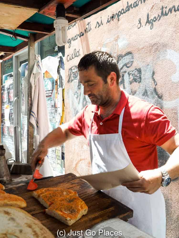 Sicilian Street Food in Palermo with Children