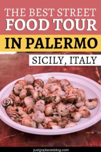 One of the best way to explore Palermo and have some great Sicilian street food in Palermo with kids is joining a food tour with StrEAT Palermo. Check out why this is one of the best things to do in Palermo, Sicily - they will bring you to the famous Palermo market and many hidden spots in the city. #palermo #sicily #foodtour #foodie #travelwithkids