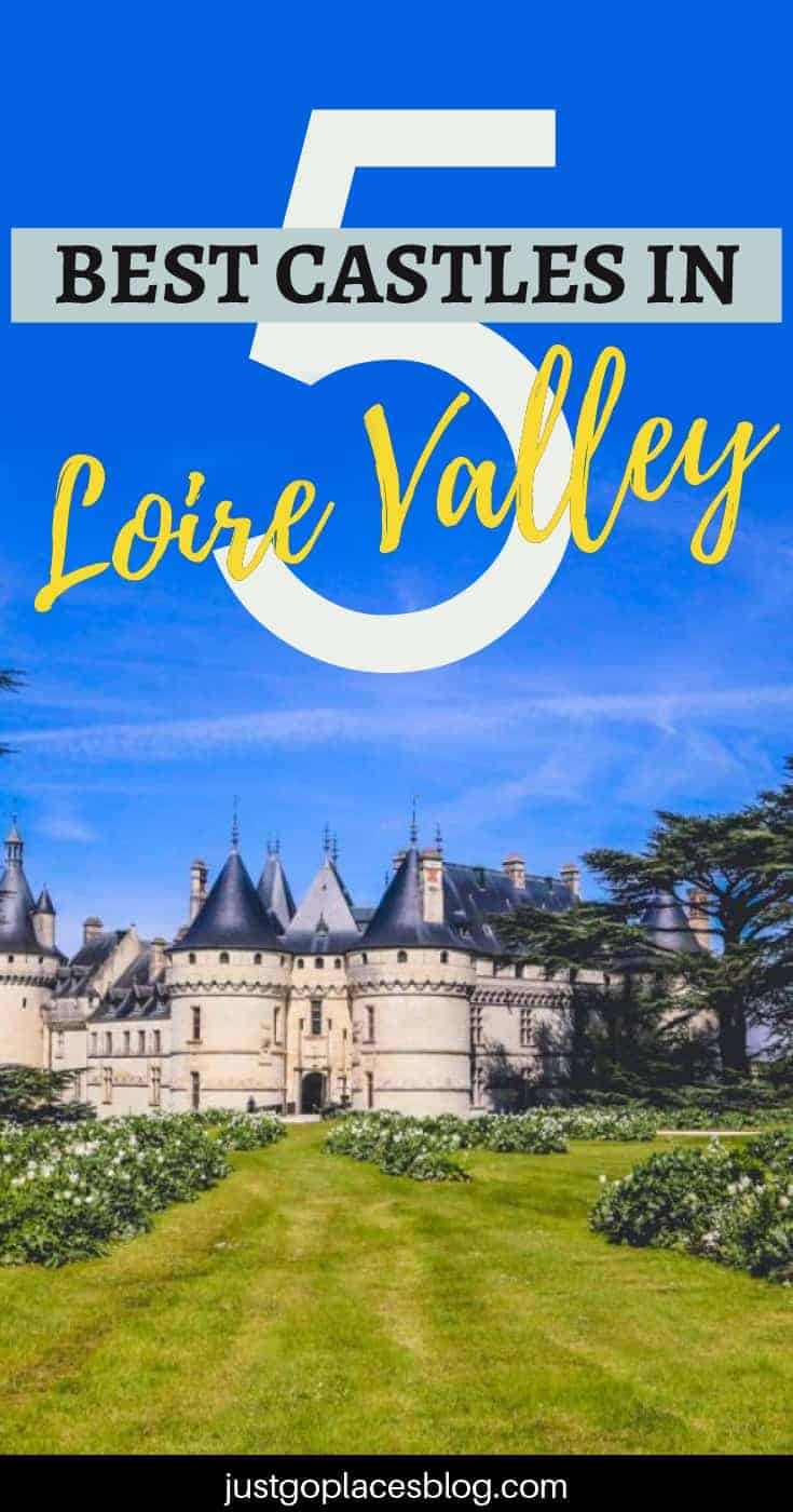 So many chateaux, so little time. With more than 500 chateaux in the Loire Valley, where does one start exploring this region which has been called the garden of France? Luckily for you, here are the five best castles in the Loire Valley to include in your Loire Valley itinerary. It also helps that these chateaux are family-friendly! Check them all out. #france #loirevalley #castles #chateaux #francetravel