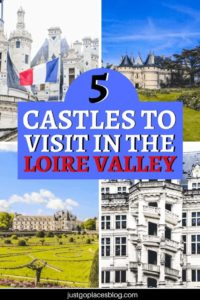 When you think of the Loire Valley, France, one thing comes to mind: magical castles where you can imagine kings and princesses. Here are the 5 best castles to visit in the Loire Valley: these chateaux will make you dream and you should definitely include them in your Loire Valley, France itinerary. #loirevalley #castles #france