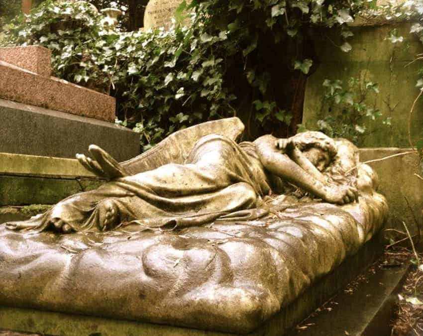 One of the Magnificent Seven, Highgate Cemetery in North London