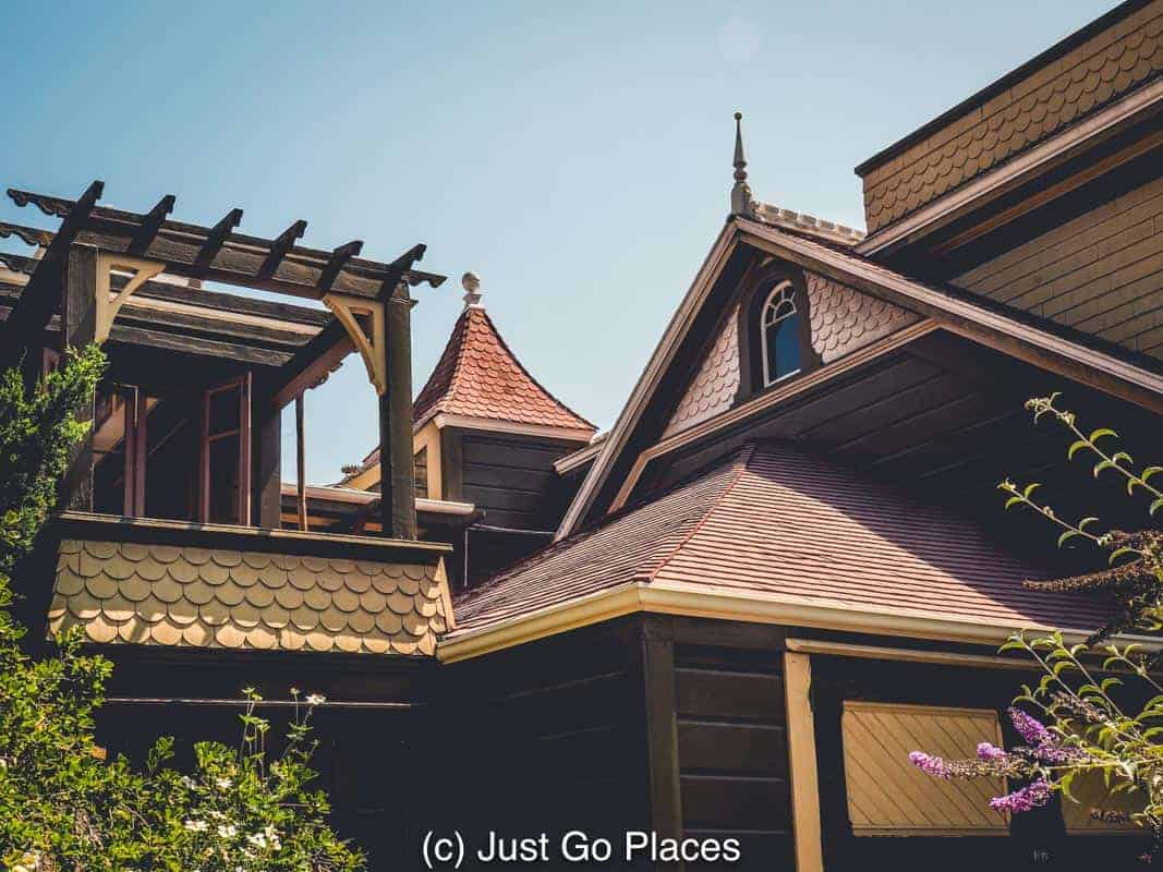 The Winchester Mystery House in San Jose