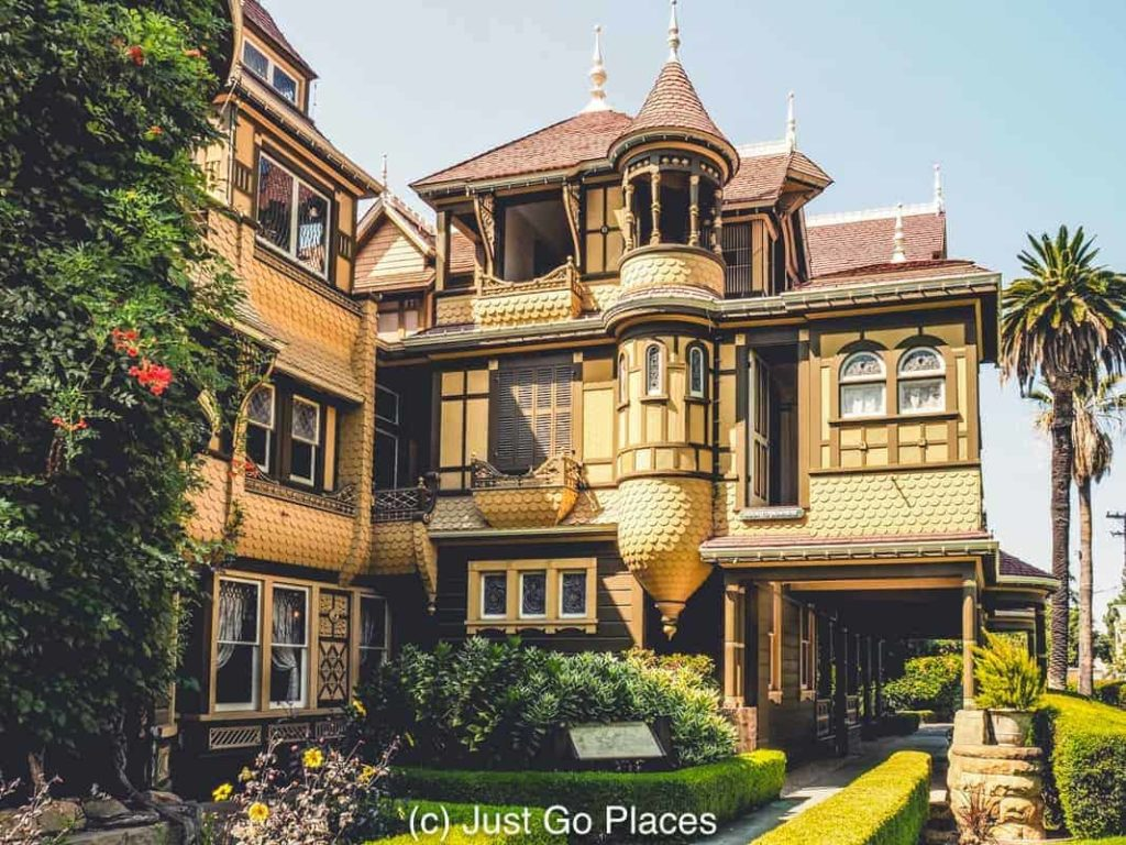 The winchester mystery house in san jose for San francisco mansion tour