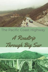 Pacific Coast Highway road trip through Big Sur