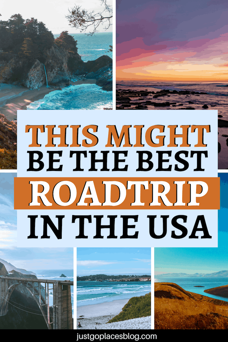 In the USA you can go on some spectacular road trips, but this one in our opinion might be the best road trip in the USA...definitely a photogenic one. If you're heading to California, you can't miss a Pacific Coast Highway Road trip through Big Sur. Check out this post for California road trip itinerary and info to plan your PCH road trip. #BigSur #PacificCoastHighway #PacificCoast #PacificCoasthwy #California