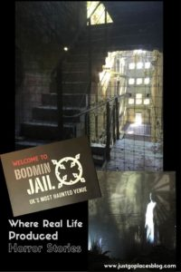 Haunted Bodmin jail in Cornwall in England